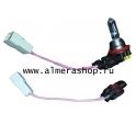 Провода подключения ПТФ переходник 2 шт без ламп