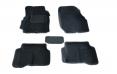 Коврики салона 3D Nissan Almera Classic