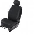 Чехлы для сидений Almera Classic черные эко-кожа