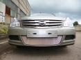 Защита радиатора Nissan Almera 2013- chrome