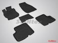 Коврики резиновые с высоким бортом для Nissan Almera IV 2013-н.в